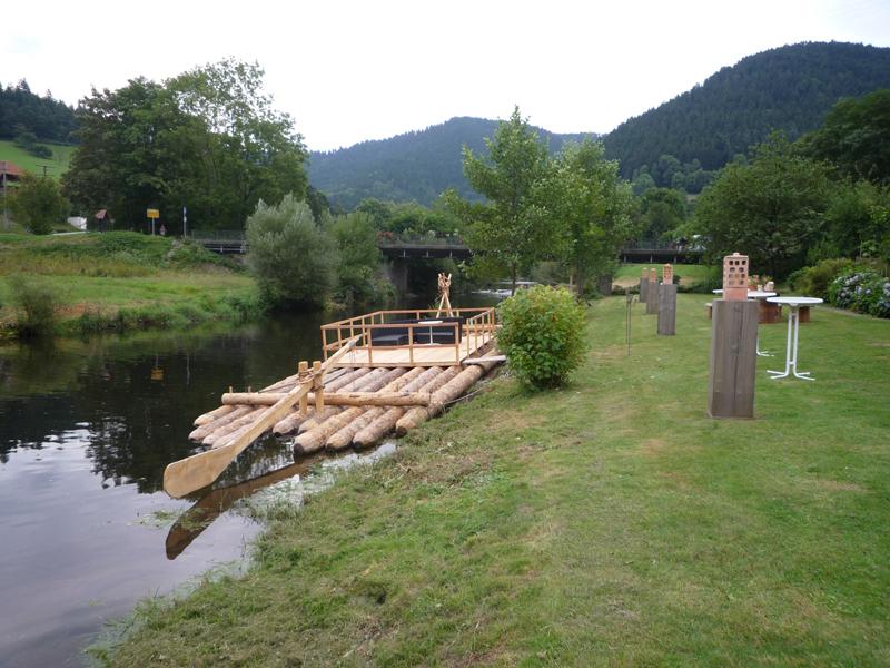 Schau-Floß Halbmeil