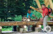 Schaufloß Ehlenbogen Wanderer