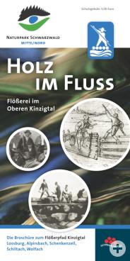 "Titelseite Flößer-Büchle ""Holz im Fluss"""